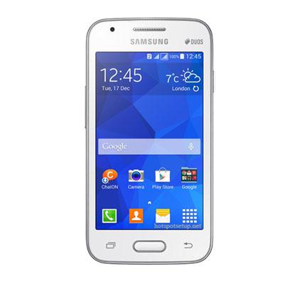 Setup a secure wireless network on Samsung galaxy v