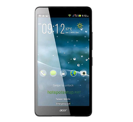 Wireless internet connection on Acer liquid X1 mobile
