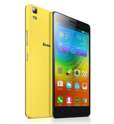 Specification of Lenovo A7000